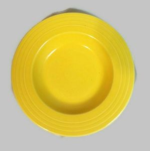 Fiestaware Pasta Serving Plate Dish Yellow